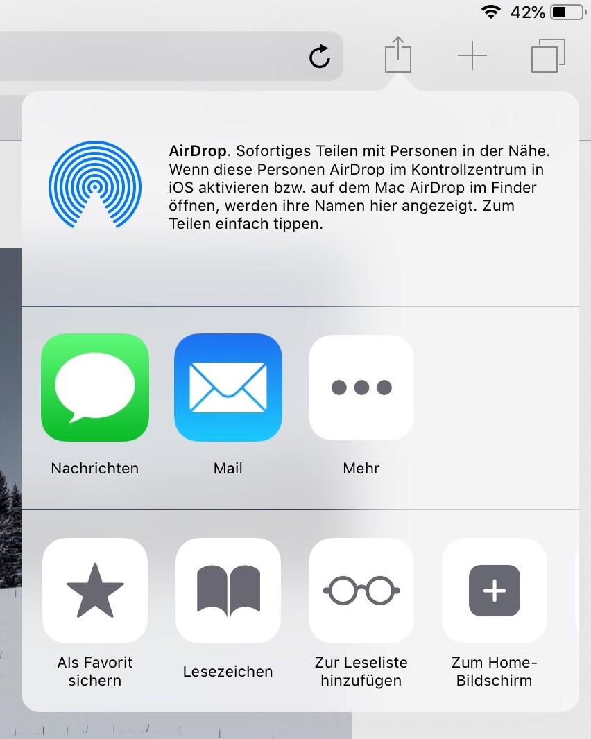 PWA auf iOS-Geräten installieren